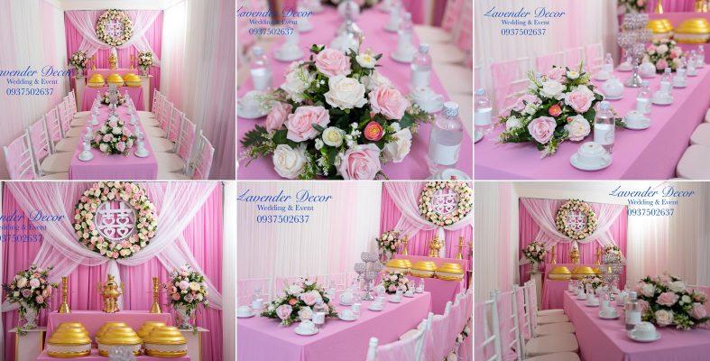 trang trí gia tiên 02 1 787x400 - Dịch vụ trang trí tiệc cưới