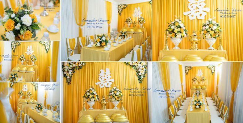 trang trí tiệc cưới 05 787x400 - Trang Trí Tiệc Cưới , Lễ Gia Tiên đẹp TpHCM