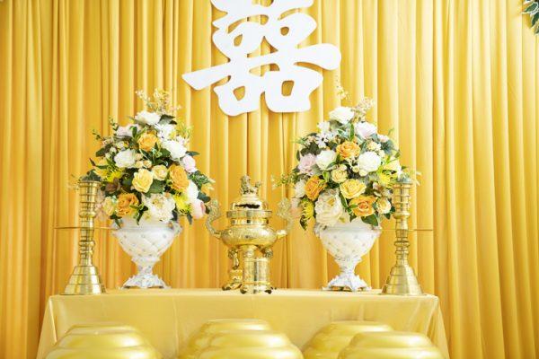 trang tri gia tien 27 1 600x400 - Bật mí các loài hoa dùng trong trang trí gia tiên